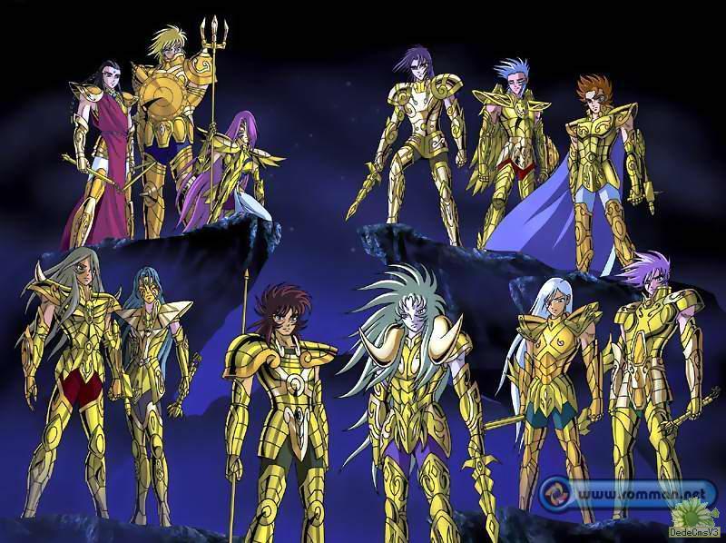 谁认识这个版本的黄金圣斗士?