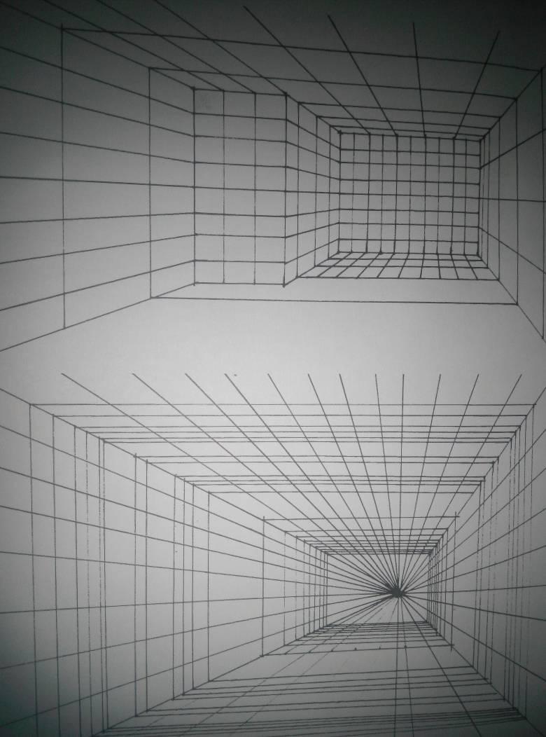 透视网格怎么画?