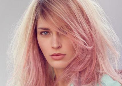 头发不退色可以染玫瑰金头发颜色