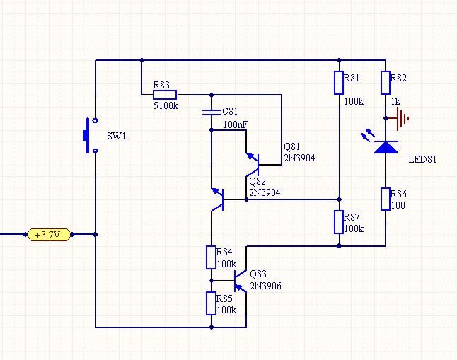 请问电路这样设计可以延时开关吗?