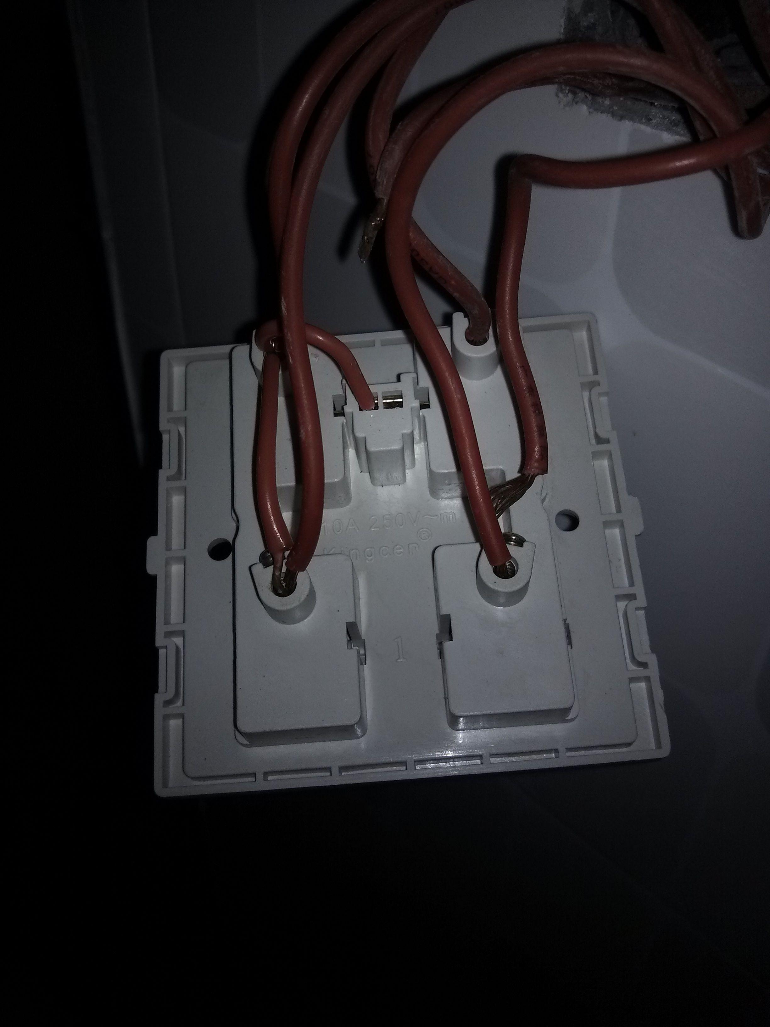 5开浴霸改成4开求接线方法
