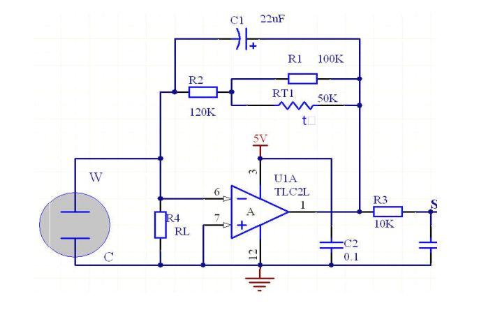 两级电化学传感器调理电路,帮忙分析一下吧