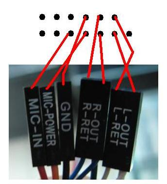 b85主板接线连接图