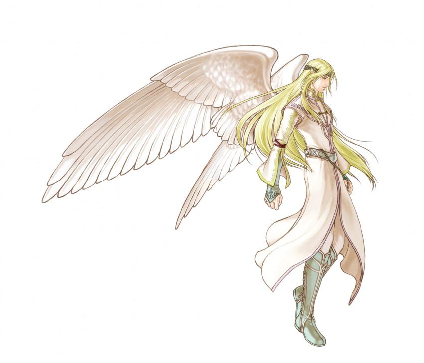 谁有动漫男天使的壁纸?