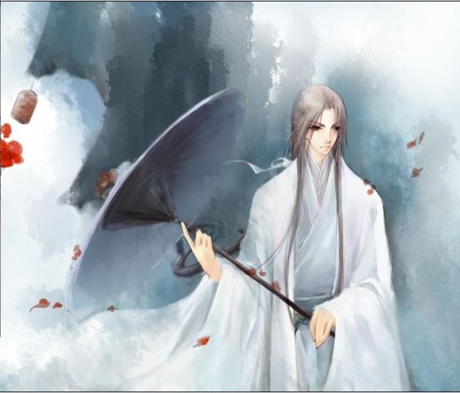 有刘海的古代帅哥图片