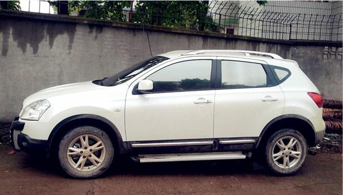 东风日产逍客2012款白色和翡丽灰哪个颜色比较好看