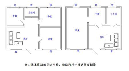 求农村房屋设计平面图