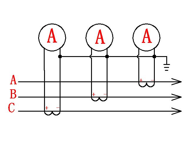 电流表互感器接线图