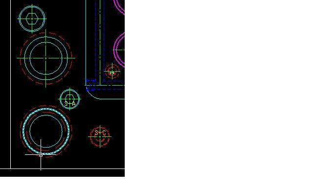 删除用FI快速装饰CAD中十字的圆心请问?cad画线如何标注图片