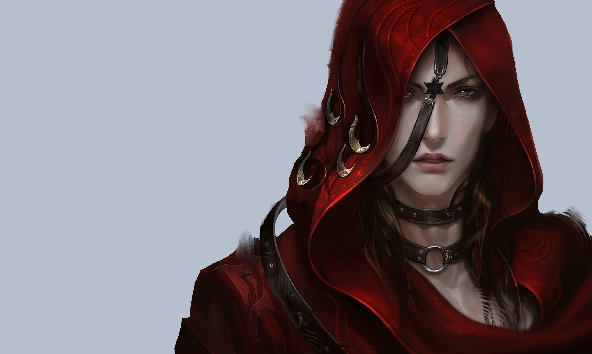 妖孽红衣古装美男有谁