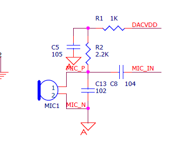 mic外电路原理