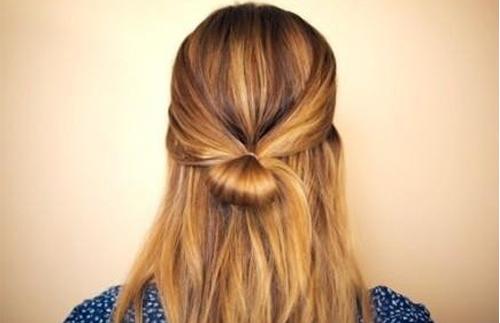 怎么扎蝴蝶结发型图片