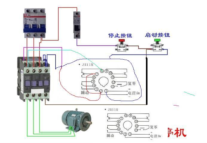 三相电的排风扇需要继电器接触器这些保护电器吗?