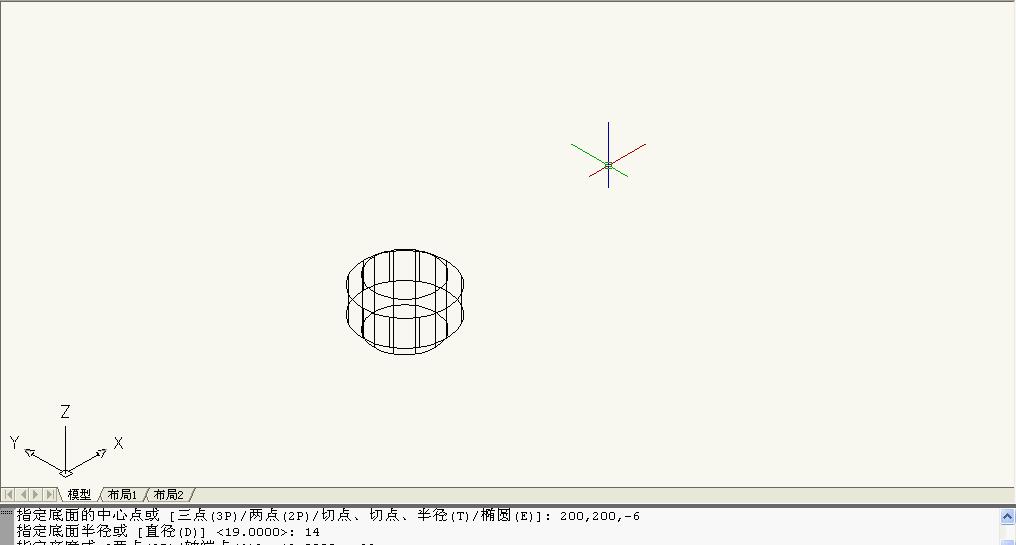 CAD三维建模画不出图形命令画圆柱体在v图形cad填充立体裁剪图片