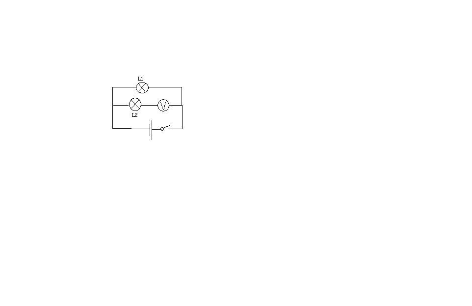 初中物理学电路图