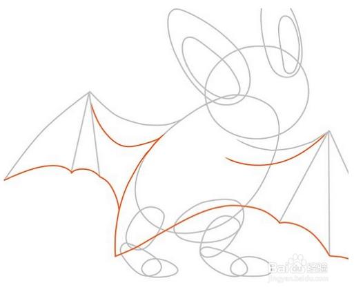 蝙蝠怎么画?