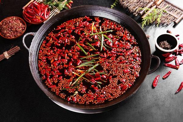 火锅底料的描写叶子白方法的丁香炒制图片