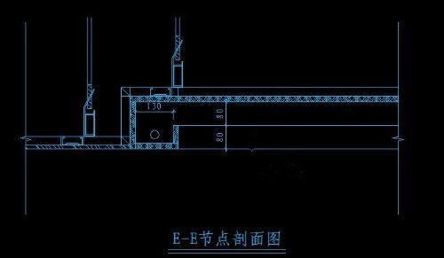 二级吊顶结构�_轻钢龙骨石膏板顶面二级吊顶构造图