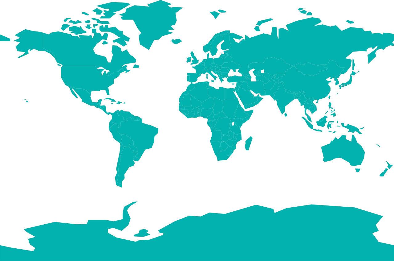 世界地图轮廓图片