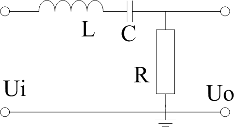 可采用带通滤波器结构,电路如下: 向左转| 向右转