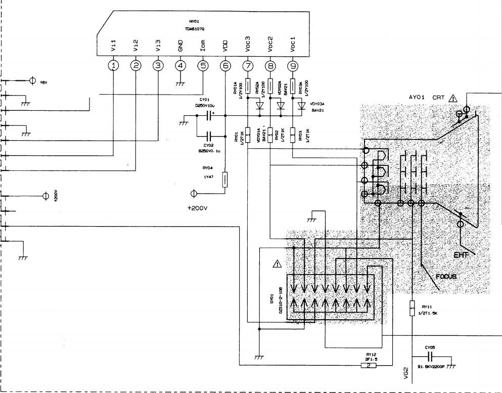 长虹h34d80电路图视放电路看看