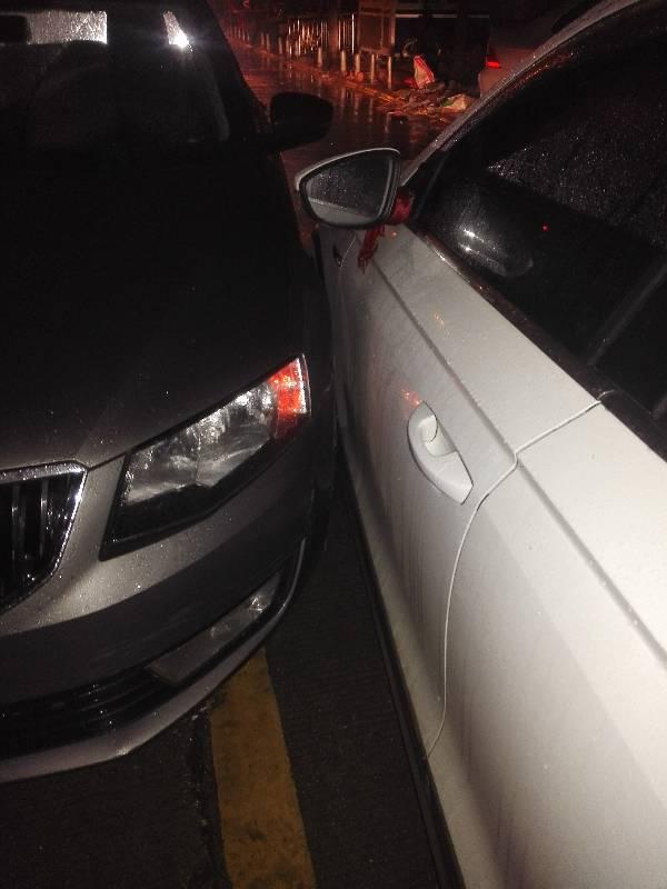 两车直行碰撞事故,是谁的责任?