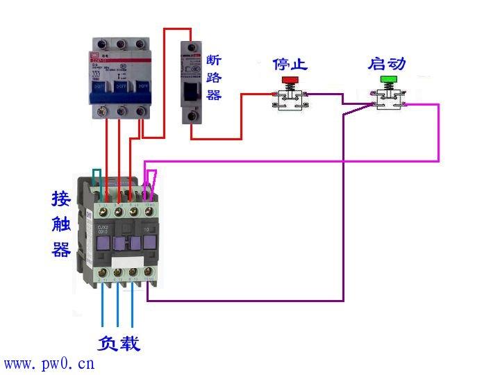 请问,cjx23210接触器详细接线图
