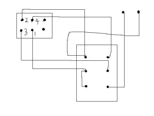 单相倒顺开关怎么接线控制电动机正反转 最好带图和说明