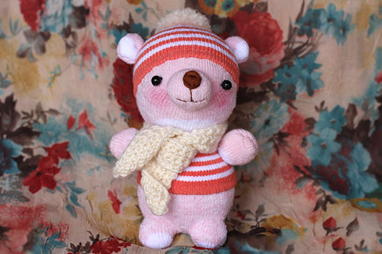怎么手工制作小熊布娃娃?