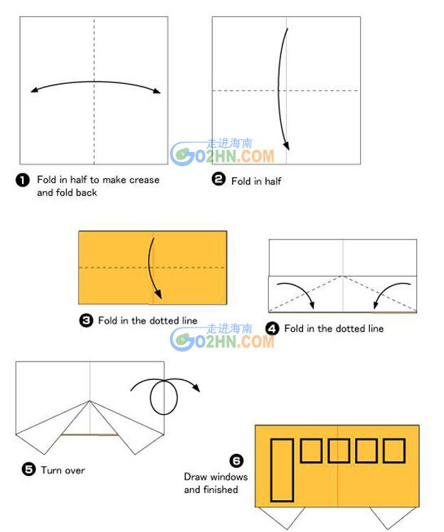 儿童折纸手工制作图片