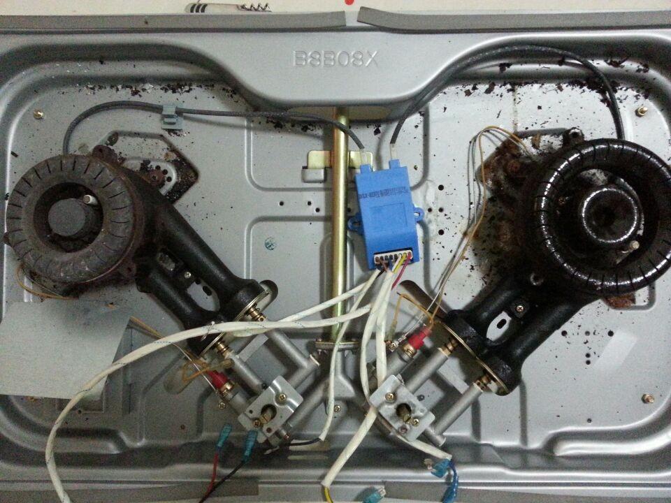 万和燃气灶脉冲点火器接线