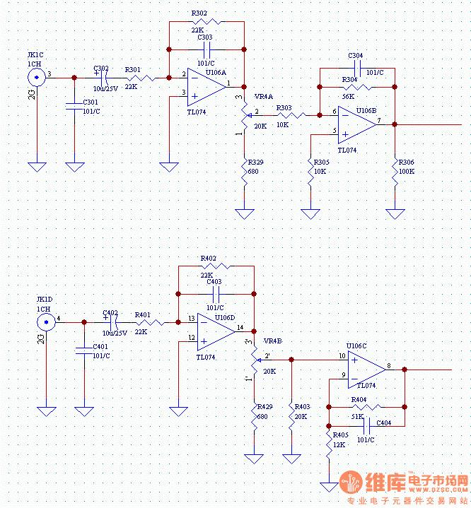 模电设计题:设计音频放大电路