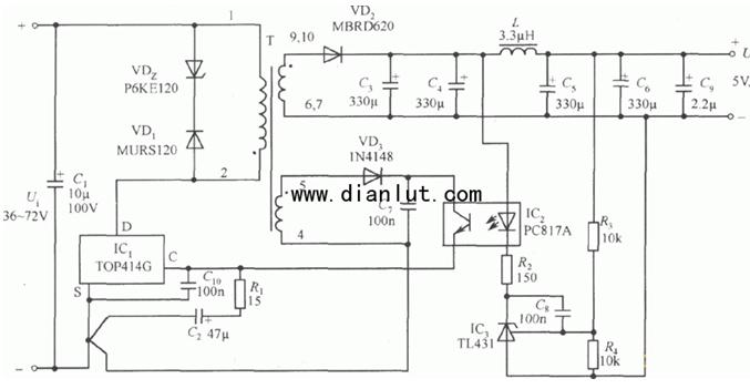 电动工具调速开关电路图和工作原理