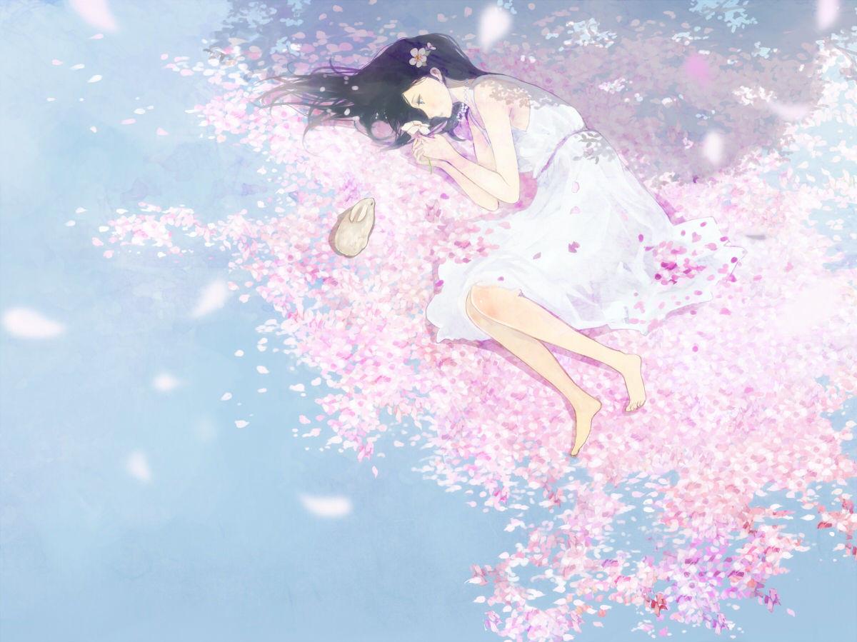 樱花动漫风景图片