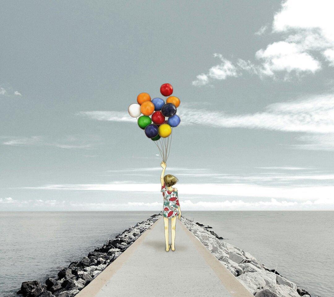 一个人孤独图片