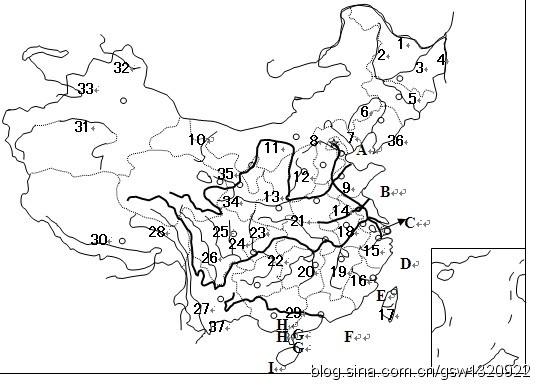 地图 简笔画 手绘 线稿 538_392