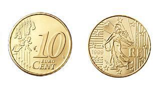 追答 法国的十欧分正面跟所有欧元一样 背面是oscar roty的女播种者图片
