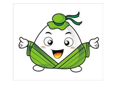 求 做一张可爱点的卡通粽子图片