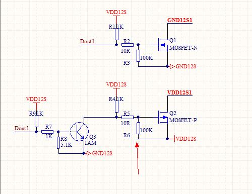 为什么nmos管在开关电路中要在栅极和源极之间串哥电阻,这是为什么呢?