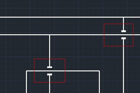 CAD里面我的管道是不连坐的,就是不是连一起cad怎么中相交起来标点图片