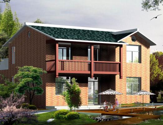 190平米二层别墅设计图