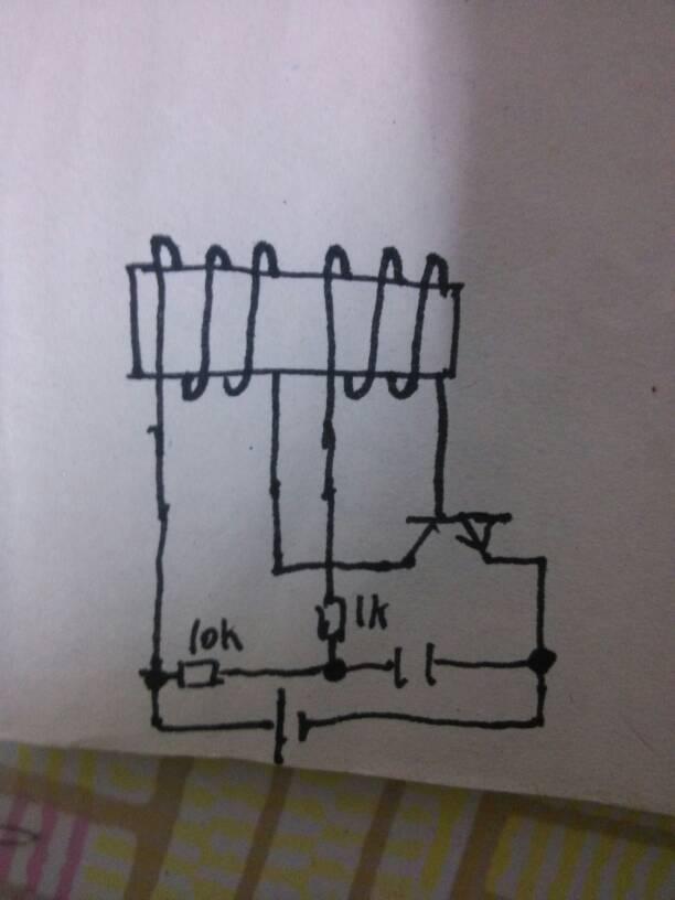 这个自激逆变电路图的变压器该怎么缠绕?逆时针还是顺
