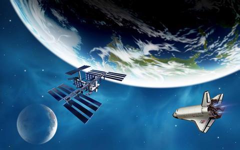 宇宙 太空 航天 想象画