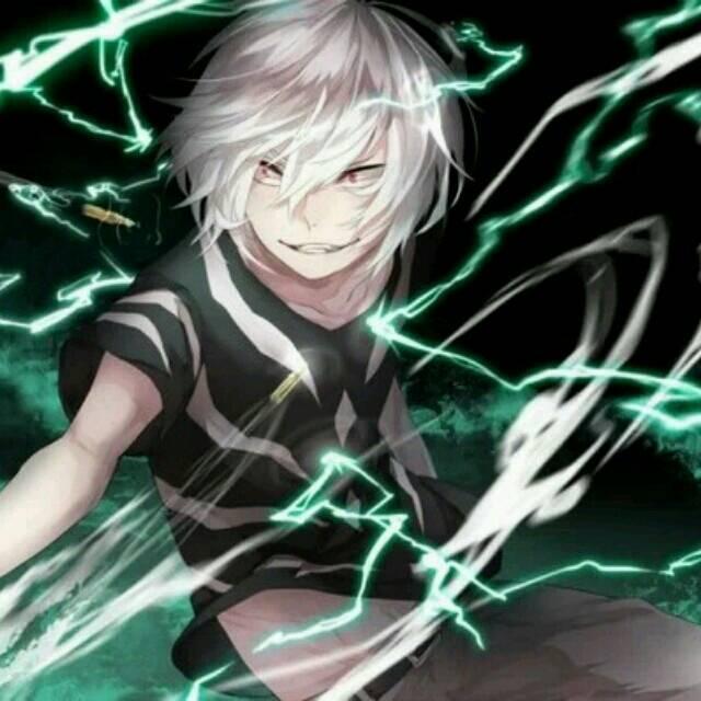 白头发,红眼睛,控制闪电的动漫人物,这人出自哪部动漫图片