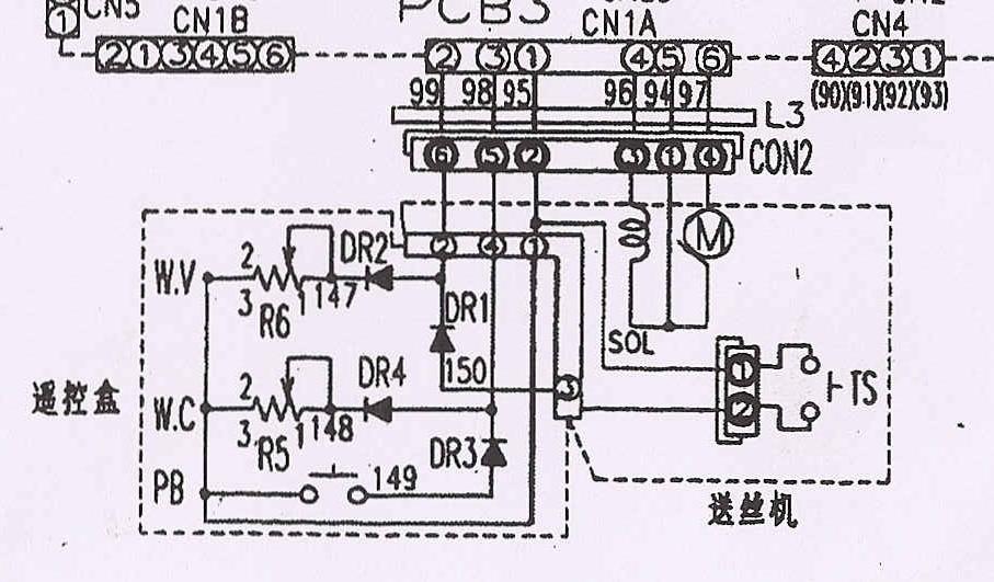 用电阻档测量比较好,给个接线图你看看