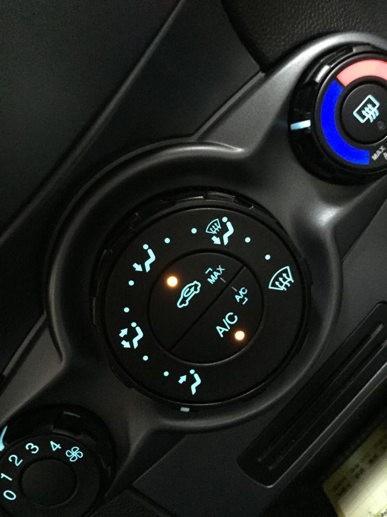 汽车空调点亮上面那个max按钮是代表空调内循环还是内外循环?