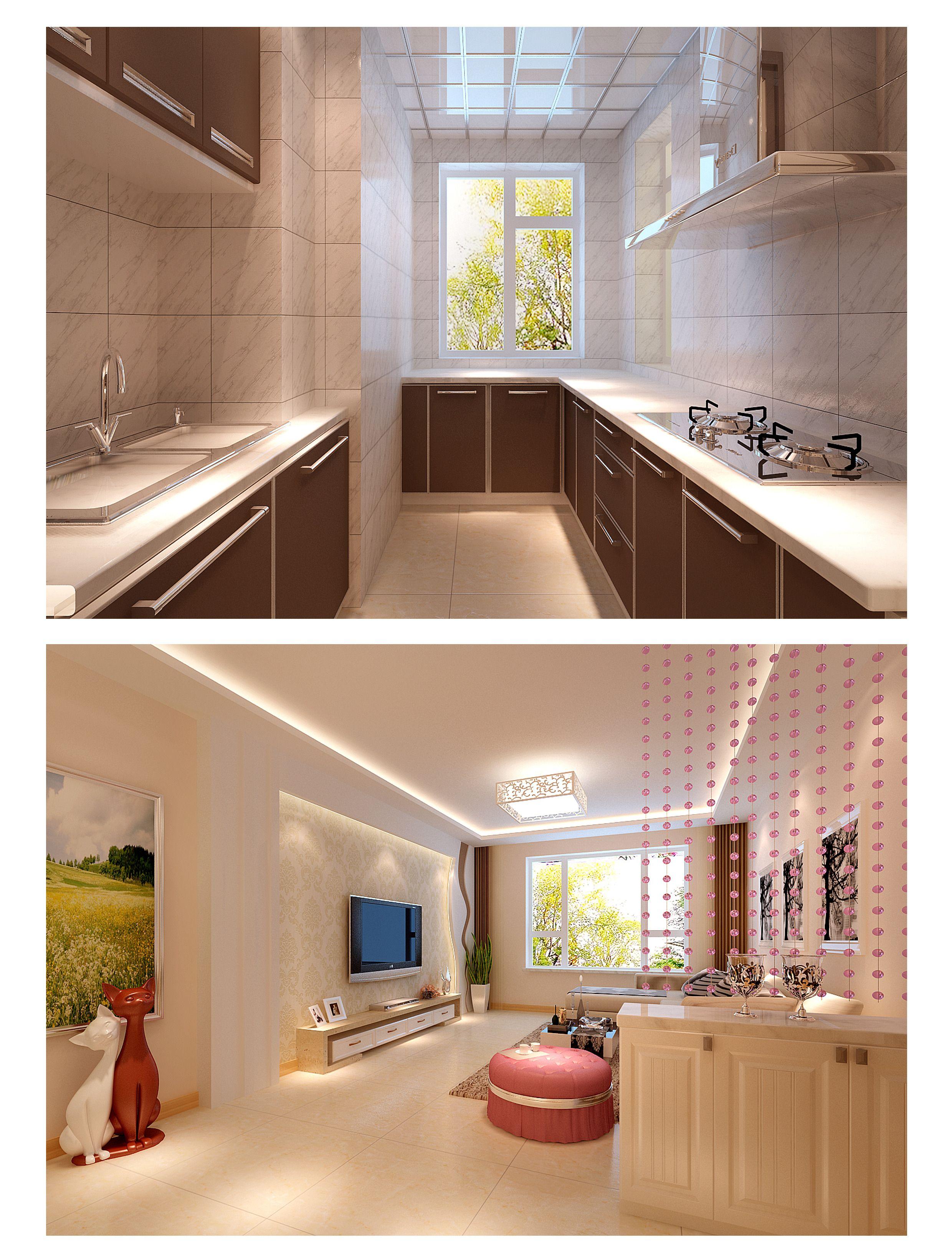 54平米房子 两室一厅一厨一卫,中等装修 下来费用得多少?