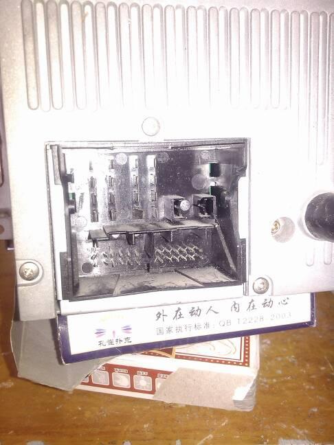福特汽车cd改家用怎么接线,哪里接电源,哪里接音箱