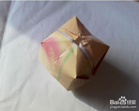 用纸怎么折灯笼图片