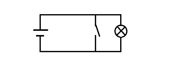 (一)看实物画电路图:实物图实际上只有两种电路,一种串联,另一种是